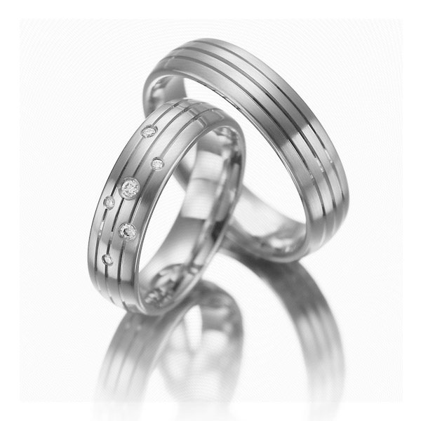 Snubní Titanové prsteny JT002B