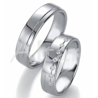 Snubní Titanové prsteny JT1551B