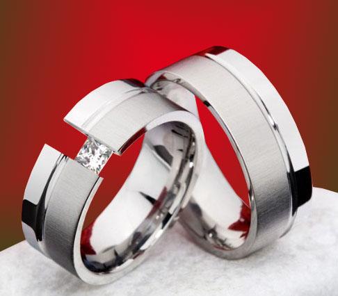 Snubní Titanové prsteny JT991B