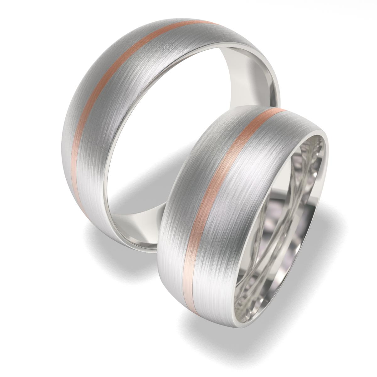 Snubní prsteny z chirurgické oceli 7019 (Snubní prsteny 7019)