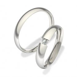 Snubní prsteny z chirurgické oceli 0140202006 (Snubní prsteny 0140202006)