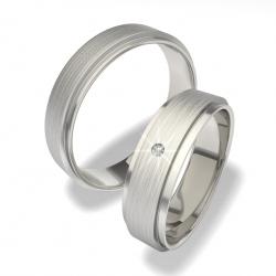 Snubní prsteny z chirurgické oceli 0140200053 (Snubní prsteny 0140200053)