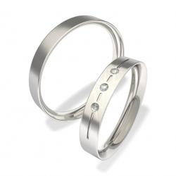 Snubní prsteny z chirurgické oceli 0140202135 (Snubní prsteny 0140202135)
