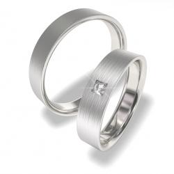 Snubní prsteny z chirurgické oceli 0140202155 (Snubní prsteny 0140202155)