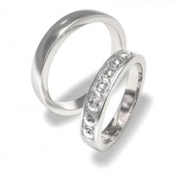 Snubní prsteny z chirurgické oceli 0140202159 (Snubní prsteny 0140202159)