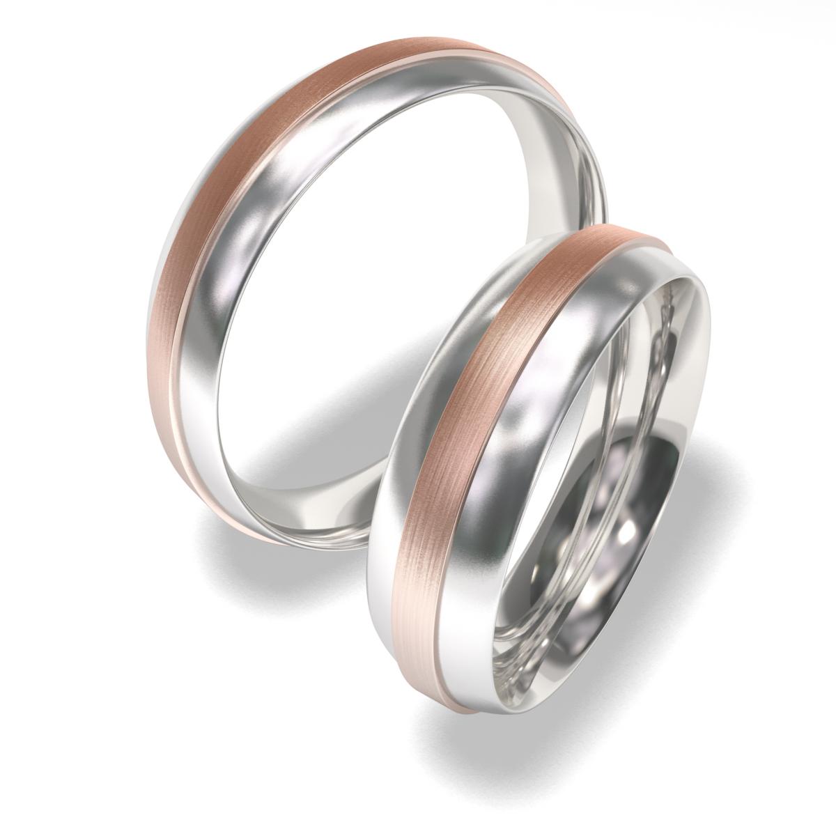 Snubní prsteny z chirurgické oceli 7020 (Snubní prsteny 7020)