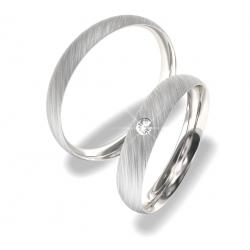Snubní prsteny z chirurgické oceli 0140202154 (Snubní prsteny Moye-0140202154)