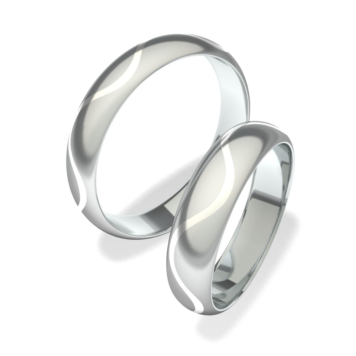 Snubní prsteny z chirurgické oceli 7013 (Snubní prsteny 7013)