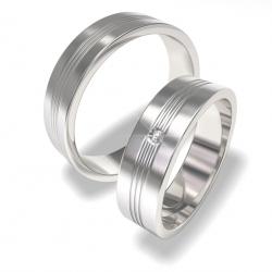 Snubní prsteny z chirurgické oceli -0140202140 (Snubní prsteny-0140202140)