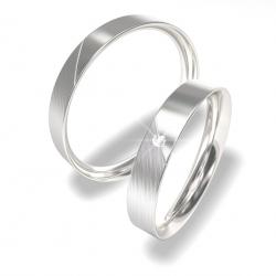 Snubní prsteny z chirurgické oceli 0140202073 (Snubní prsteny 0140202073)