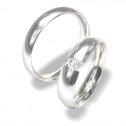 Snubní prsteny z chirurgické oceli 0140202037 (Snubní prsteny 0140202037)