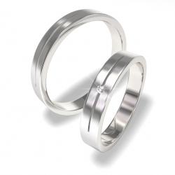 Snubní prsteny z chirurgické oceli 0140202021 (Snubní prsteny 0140202021)