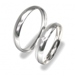 Snubní prsteny z chirurgické oceli 0140202004