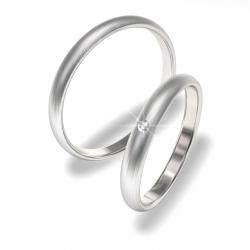 Snubní prsteny z chirurgické oceli 0140200157 (Ocelové snubní prsteny 0140200157)