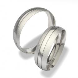 Snubní prsteny z chirurgické oceli 0140200072 (Snubní prsteny 0140200072)