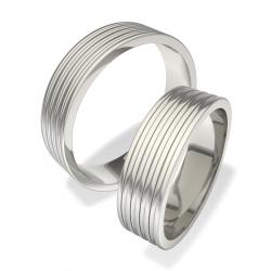 Snubní prsteny z chirurgické oceli 0140200075 (Snubní prsteny 0140200075)