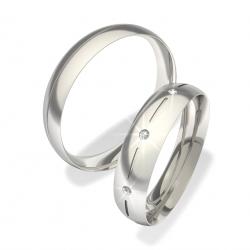 Snubní prsteny z chirurgické oceli 0140101079 (Snubní prsteny 0140101079)