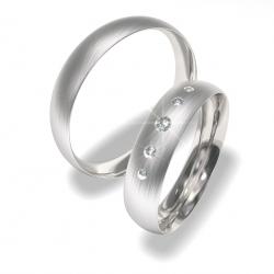 Snubní prsteny z chirurgické oceli 0140200023 (Snubní prsteny 0140200023)