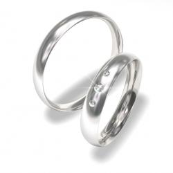Snubní prsteny z chirurgické oceli 0140200022 (Snubní prsteny 0140200022)