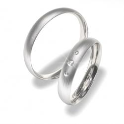 Svatební prstýnky z chirurgické oceli 0140200022_1 (Snubní prsteny 0140200022_1)