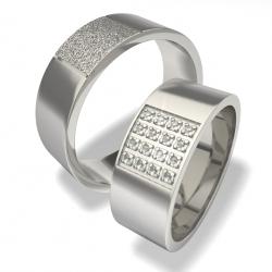 Snubní prsteny z chirurgické oceli 0140200017 (Snubní prsteny 0140200017)
