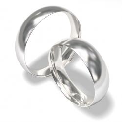 Snubní prstýnky z chirurgické oceli 0140200005_1 (Luxusní Ocelové snubní prsteny)