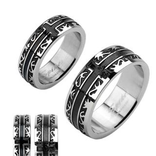 Snubní prsteny z chirurgické oceli R-H1001