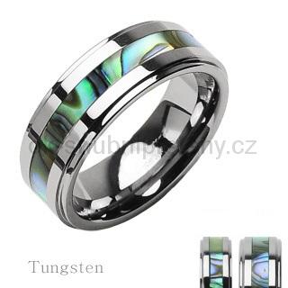 Wolframové snubní prsteny R-TU-102 (Wolframové snubní prsteny R-TU-102)