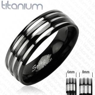 Snubní Titanové prsteny PNT-0020 (Snubní prsteny PNT-0020)
