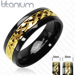 Snubní Titanové prsteny PNT-0030 (Snubní prsteny PNT-0030)