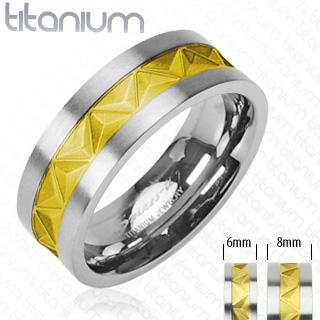 Snubní Titanové prsteny PNT-0032 (Snubní prsteny PNT-0032)