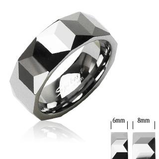 Wolframové snubní prsteny PNW-0002 (Wolframové snubní prsteny PNW-0002)