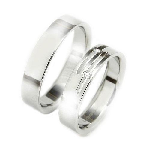 Snubní prsteny z chirurgické oceli TBR14BR15 (Snubní prsteny TBR14BR15)