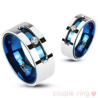 Snubní prsteny z chirurgické oceli R-H1733 (Snubní prsteny z chirurgické oceli R-H1733)