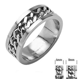Levné snubní prsteny z chirurgické oceli R-H0260 (Snubní prsteny z chirurgické oceli R-H0260)