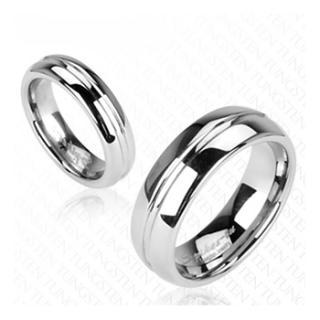 Wolframové snubní prsteny R-TU-117 (Wolframové snubní prsteny R-TU-117)