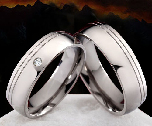 Snubní Titanové prsteny JT993 (Snubní prsteny JT993)