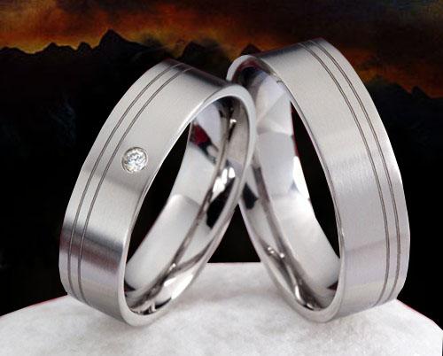 Snubní Titanové prsteny JT992 (Snubní prsteny JT992)