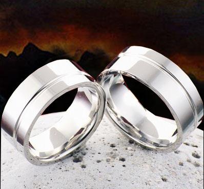 Snubní Titanové prsteny JT985 (Snubní prsteny JT985)