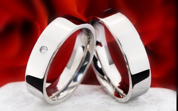Snubní Titanové prsteny JT990 (Snubní prsteny JT990)