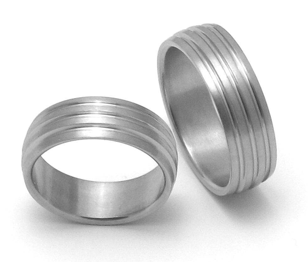 Snubní Titanové prsteny ttn4301+ttn4301 (Snubní prsteny ttn4301+ttn4301)