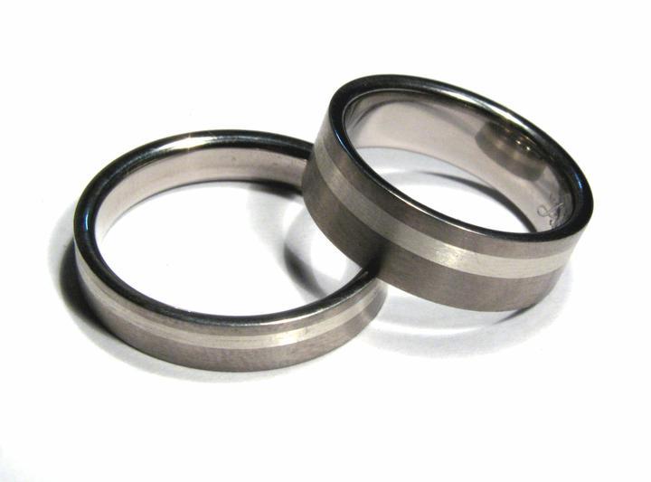Snubní prsteny Titan-Stříbro OKU-016