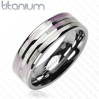 Snubní Titanové prsteny R-TI-0573 (Snubní prsteny R-TI-0573)