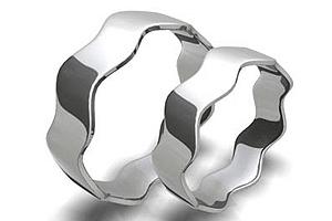 Snubní prsteny z chirurgické oceli 0401 (Snubní prsteny 0401)