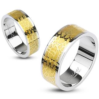 Snubní prsteny z chirurgické oceli R-H1587 (Snubní prsteny R-H1587)