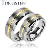 Wolframové snubní prsteny R-TU-113 (Wolframové snubní prsteny R-TU-113)