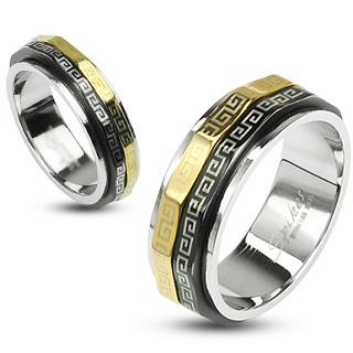Snubní prsteny z chirurgické oceli R-H1588 (Snubní prsteny z chirurgické oceli R-H1588)