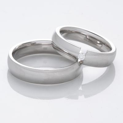 Snubní prsteny z chirurgické oceli OC1010 (Snubní prsteny OC1010)