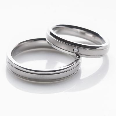 Snubní prstýnky s brilianty OC1020B