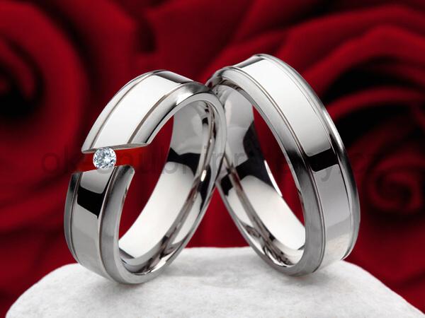 Snubní Titanové prsteny JT996 (Snubní prsteny JT996)